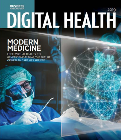 Business in Vancouver Digital Health September 2019 cover