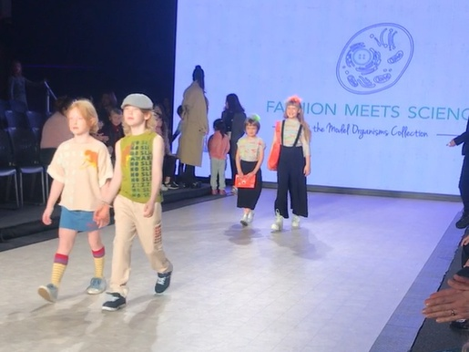 kids walk down the runway at Vancouver Kids Fashion Week